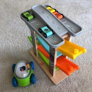 Push car track toddler baby